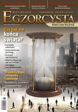 Okładka książki Miesięcznik Egzorcysta. Grudzień 2014