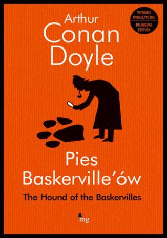 Okładka książki Pies Baskerville'ów - wydanie dwujęzyczne