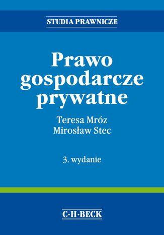 Okładka książki Prawo gospodarcze prywatne