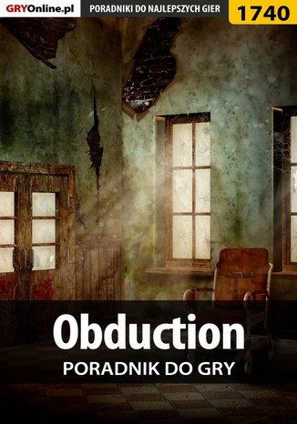 Okładka książki/ebooka Obduction - poradnik do gry
