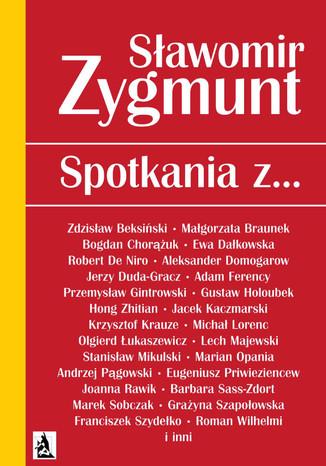 Okładka książki Spotkania z...