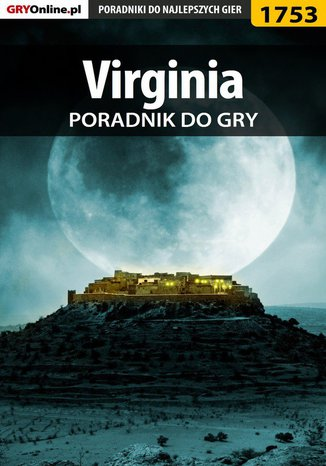 Okładka książki Virginia - poradnik do gry