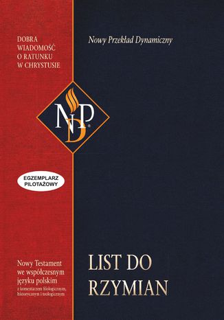 Okładka książki/ebooka List do Rzymian (NPD)