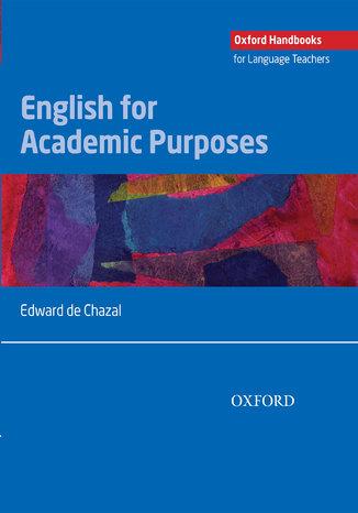 Okładka książki/ebooka English for Academic Purposes - Oxford Handbooks for Language Teachers