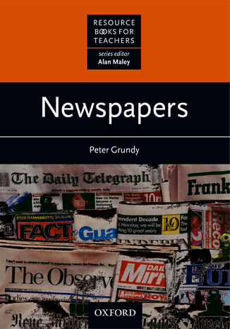 Okładka książki/ebooka Newspapers - Resource Books for Teachers