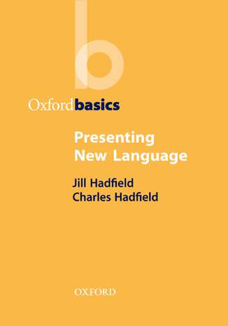 Okładka książki Presenting New Language - Oxford Basics