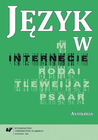 Okładka książki/ebooka Język w internecie. Antologia