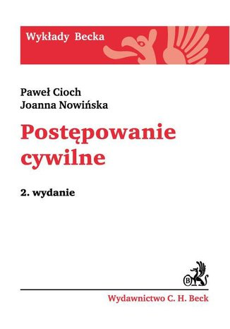 Okładka książki Postępowanie cywilne. Wydanie 4