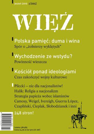 Okładka książki Więź 3/2016