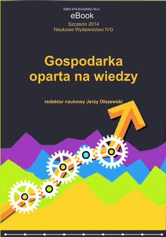 Okładka książki Gospodarka oparta na wiedzy
