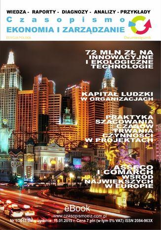 Okładka książki/ebooka Ekonomia i Zarządzanie nr 1/ 2015 ISSN 2084-963X
