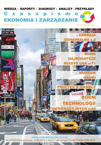 Okładka książki Ekonomia i Zarządzanie nr 2/ 2015 ISSN 2084-963X