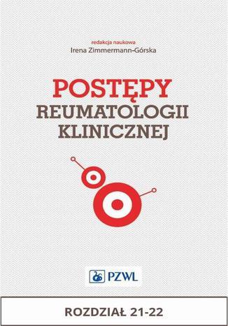 Okładka książki Postępy reumatologii klinicznej. Rozdział 21-22