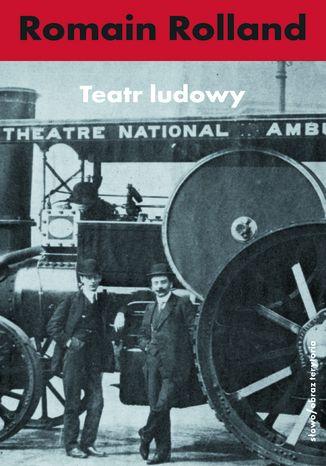 Okładka książki Teatr ludowy