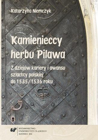 Okładka książki Kamienieccy herbu Pilawa. Z dziejów kariery i awansu szlachty polskiej do 1535/1536 roku