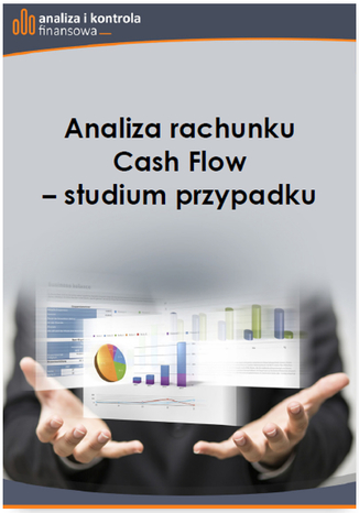 Okładka książki Analiza rachunku Cash Flow studium przypadku