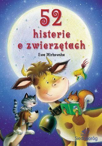 Okładka książki 52 historie o zwierzętach
