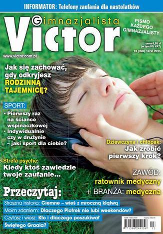 Okładka książki/ebooka Victor Gimnazjalista nr 13 (393)