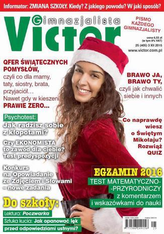 Okładka książki/ebooka Victor Gimnazjalista nr 25 (405)