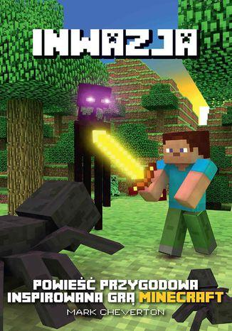 Okładka książki/ebooka Minecraft. Inwazja