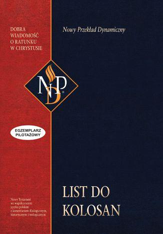 Okładka książki List do Kolosan