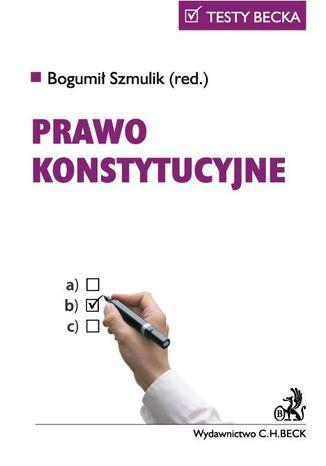 Okładka książki Prawo konstytucyjne