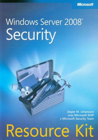 Okładka książki/ebooka Windows Server 2008 Security Resource Kit
