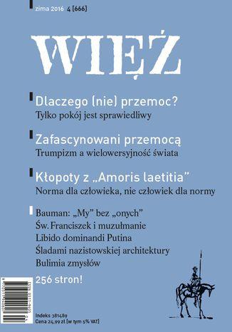 Okładka książki Więź 4/2016