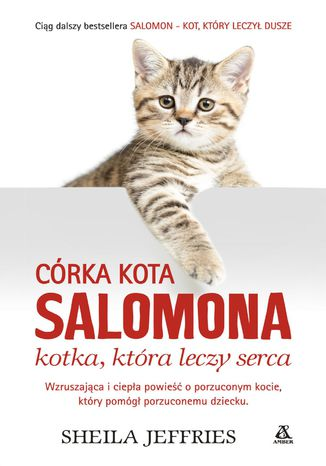 Okładka książki/ebooka Córka kota Salomona - kotka, która leczy serca