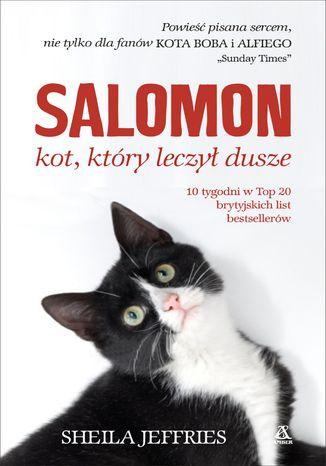 Okładka książki Salomon - kot, który leczył dusze
