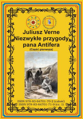 Okładka książki/ebooka Niezwykłe przygody pana Antifera. Część pierwsza