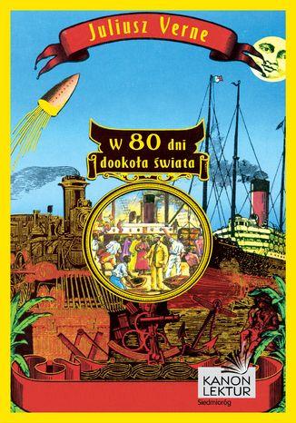 Okładka książki W 80 dni dookoła świata