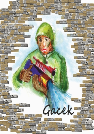 Okładka książki Gacek