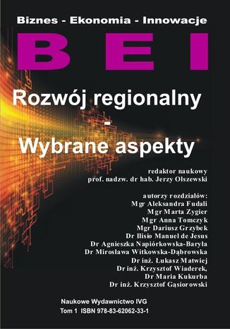 Okładka książki Rozwój regionalny - Wybrane aspekty