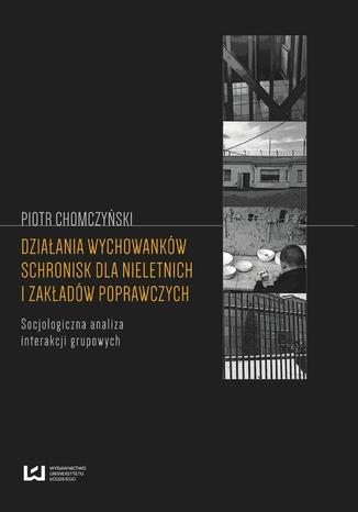 Okładka książki Działania wychowanków schronisk dla nieletnich i zakładów poprawczych. Socjologiczna analiza interakcji grupowych
