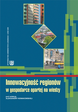 Okładka książki Innowacyjność regionów w gospodarce opartej na wiedzy
