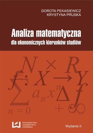 Okładka książki Analiza matematyczna dla ekonomicznych kierunków studiów