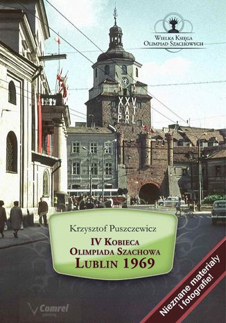 Okładka książki IV Kobieca Olimpiada Szachowa - Lublin 1969