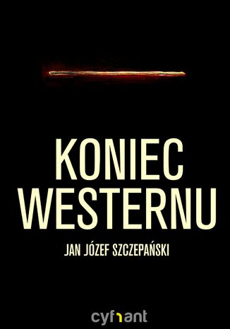 Okładka książki Koniec westernu