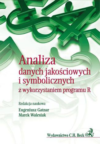 Okładka książki Analiza danych jakościowych i symbolicznych z wykorzystaniem programu R