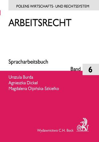 Okładka książki/ebooka Arbeitsrecht