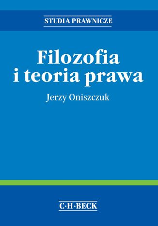 Okładka książki/ebooka Filozofia i teoria prawa