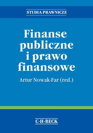 Okładka książki/ebooka Finanse publiczne i prawo finansowe