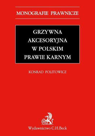 Okładka książki Grzywna akcesoryjna w polskim prawie karnym
