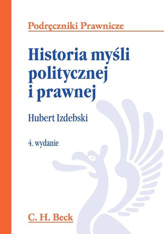 Okładka książki Historia myśli politycznej i prawnej