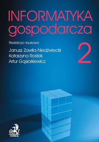 Okładka książki/ebooka Informatyka Gospodarcza. Tom II
