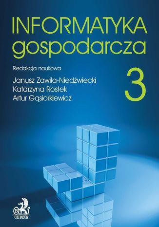 Okładka książki Informatyka Gospodarcza. Tom III