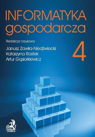 Okładka książki Informatyka Gospodarcza. Tom IV