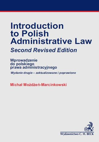 Okładka książki Introducion to Polish Administrative Law