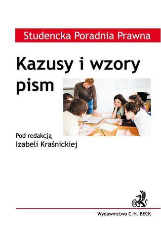 Okładka książki Kazusy i wzory pism